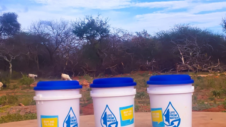 How will a water filter affect a family's life?